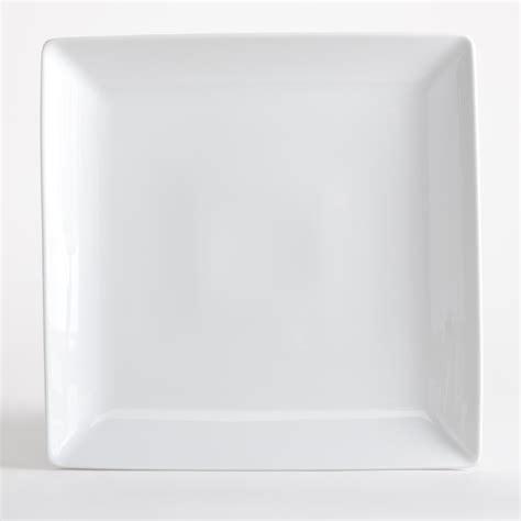 Viereckige Teller by Restoration Hardware Porcelain Square Rimmed