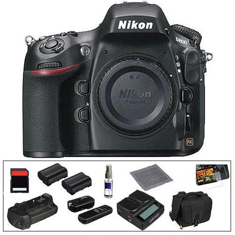 nikon d800 digital slr nikon d800 digital slr deluxe kit b h photo