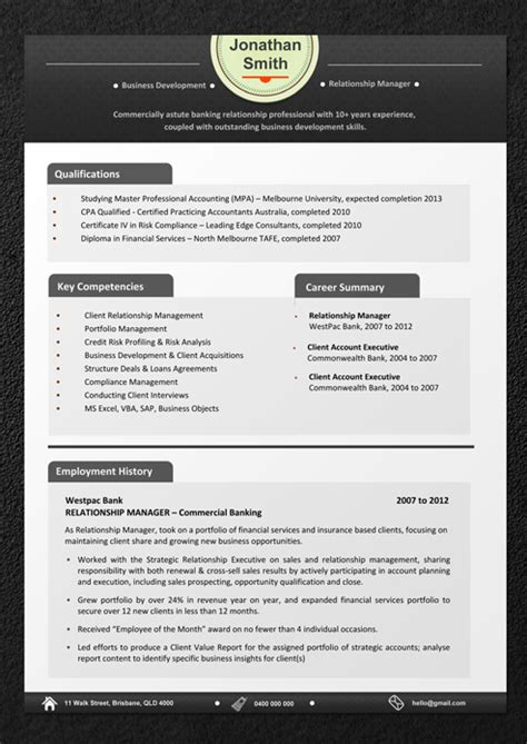 professional australian resume template critical thinking