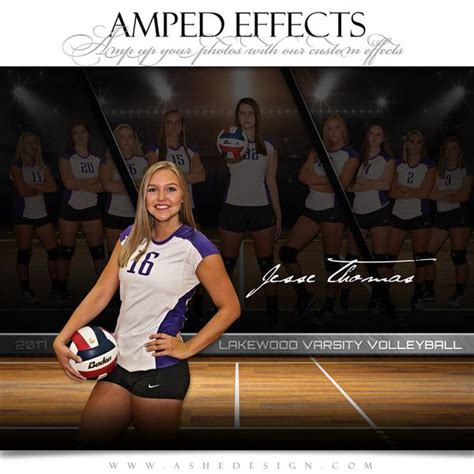 amped effects faded triptych volleyball ashedesign