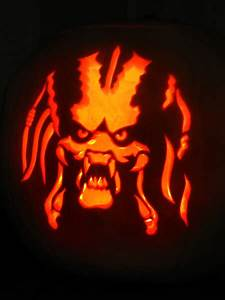 Face Painting Chart Predator Pumpkin Carving By Paul Attwood Artwanted Com
