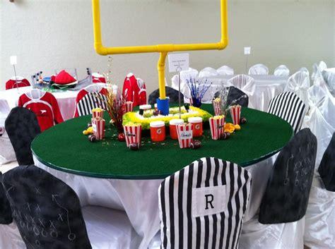 ideas  sports centerpieces  pinterest