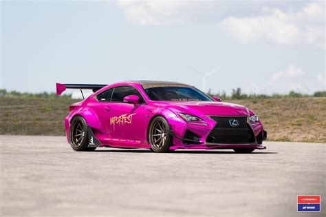 First-ever Rocket Bunny Lexus Rc F Build Up For Grabs