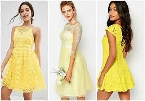 Robe été Mariage : robes jaunes ete 2017 ~ Preciouscoupons.com Idées de Décoration