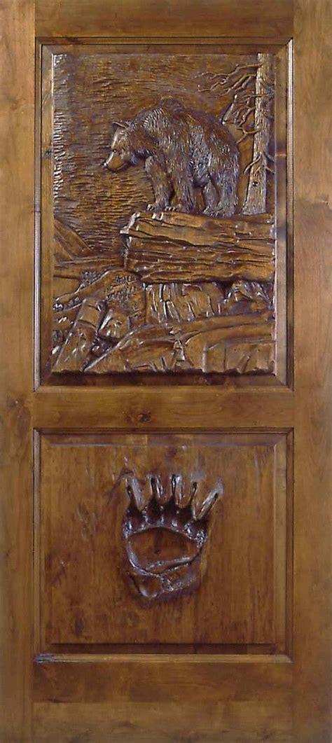 hand carved    kind door  janny dangerous doors