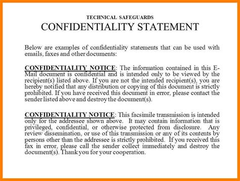 hipaa fax confidentiality statement ledger review