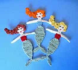 Free Crochet Mermaid Applique Pattern