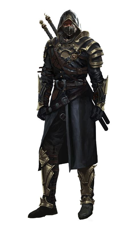 artstation dark assassin kim eun chul