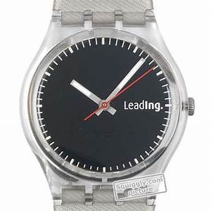 Swatch GS132 watch - Linde Company Logo