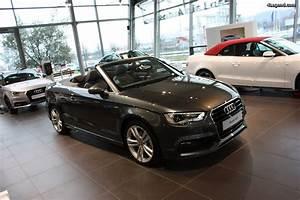 Audi A3 Grise : audi a3 cabriolet 1 4 tfsi gris daytona ~ Melissatoandfro.com Idées de Décoration