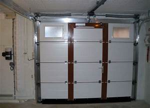 Charmant porte de garage sectionnelle avec serrure for Porte de garage enroulable avec serrure mottura