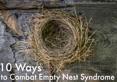 Nest Syndrom by 10 Ways To Combat Empty Nest One Hundred