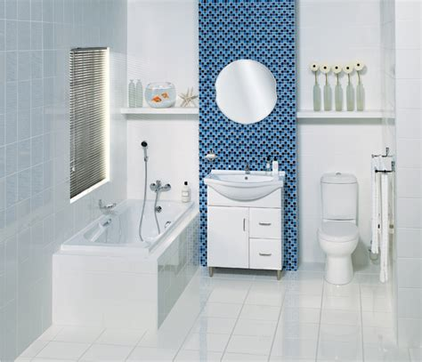 Bright & Beautiful Blue Bathrooms  Furniture & Home