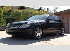 2001 Mercedes Benz S55 AMG W220 55 V8 Vette Eater S550