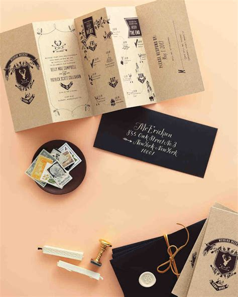 10 Incredibly Unique Wedding Invitations Design Fixation