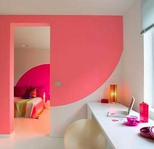Decoration Mur Interieur Salon : decoration peinture maison mc immo ~ Preciouscoupons.com Idées de Décoration