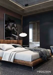 Manly bedrooms design decoration for Best brand of paint for kitchen cabinets with z gallerie large wall art