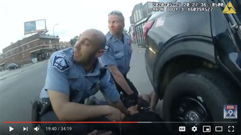 police body camera video  floyd arrest death released