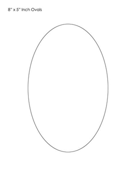 oval template – Tim's Printables