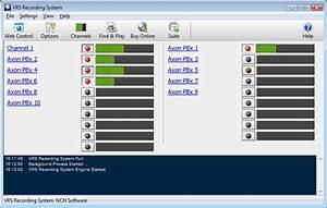 Vrs Recording System Screenshots