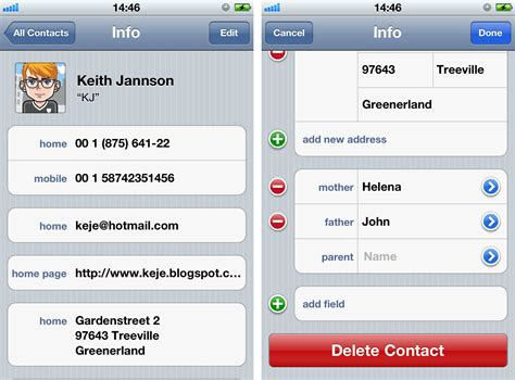 how to find deleted contacts on iphone how to delete contacts on iphone iphonepedia