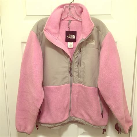 light pink north face fleece 82 off the north face jackets blazers north face pink