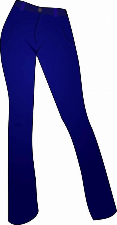 Jeans Clipart Pants Clip Denim Transparent Trousers