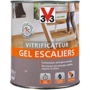 Vernis Escalier V33 by Vitrificateur Gel Escaliers Brillant Vitrificateurs Et