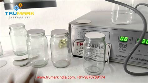 manual induction sealer  glass jar youtube
