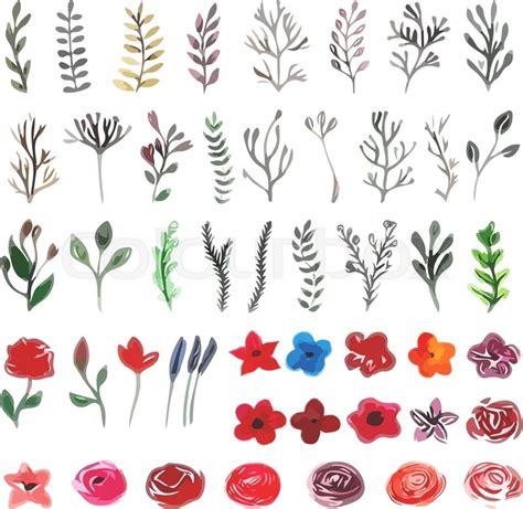 flower leaves drawing  getdrawingscom
