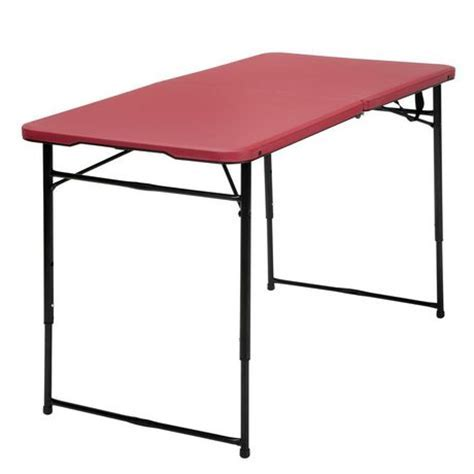 Cosco 4' Adjustable Folding Table   Walmart.ca
