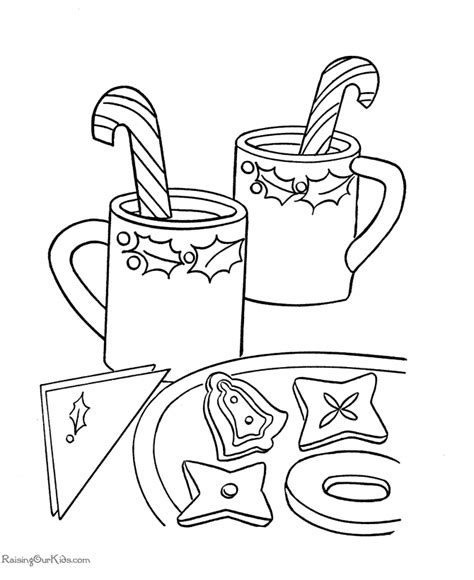 Color pictures of santa claus, reindeer, christmas trees, festive ornaments and more! Free Christmas Candy Coloring Pages For Kids | Candy cane ...