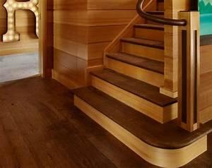 repeindre escalier en bois deco maison moderne With commentaire repeindre un escalier en bois