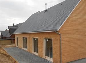 Ossature Bois Maison : maison en ossature bois noevea de gipim la maison bois ~ Melissatoandfro.com Idées de Décoration