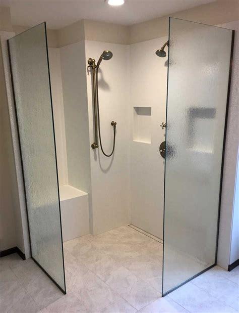 On Shower Open Shower American Mirror Glass