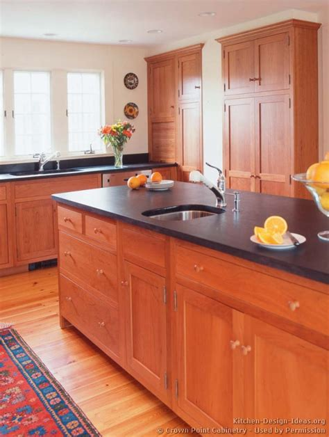 pictures of kitchens traditional light wood kitchen
