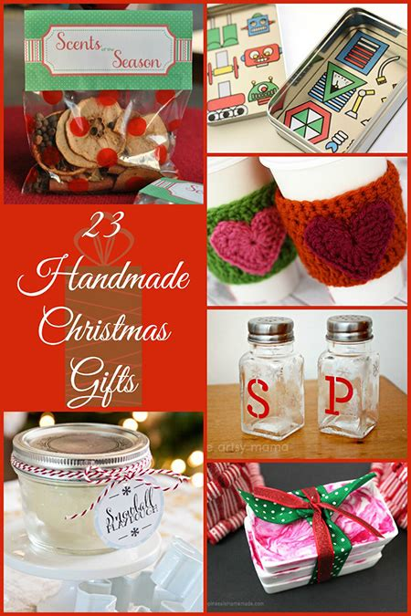 handmade christmas gifts ideas   thrifty memorable christmas