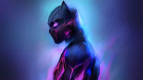 black panther fanartwork hd superheroes  wallpapers