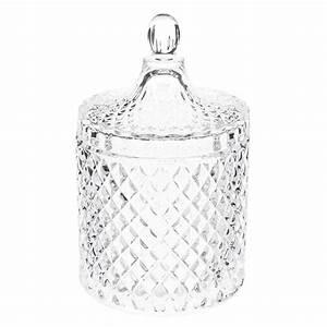 Cloche En Verre Maison Du Monde : bonbonni re en verre h 18 cm l onore maisons du monde ~ Melissatoandfro.com Idées de Décoration