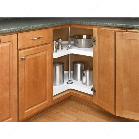 kitchen corner cabinet turntable kidney polymer tray set bulk richelieu hardware 6610