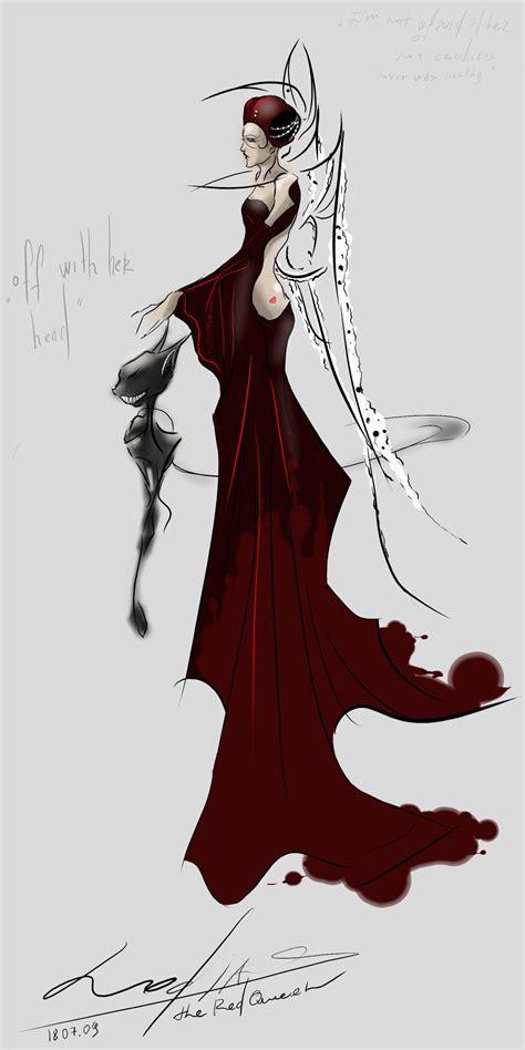 Queen Of Hearts Wallpaper Red Queen Mcgee 39 S Alice By Lodias On Deviantart