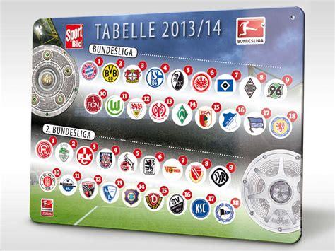 magnet tabelle  der sport bild fuer die bundesliga saison