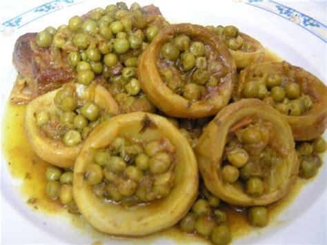 cuisiner fond d artichaut tagine de boeuf aux petits pois et fonds d artichauts ch hiwate ou hiouayate أشهوات و هوايات