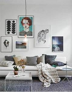Ideen Fürs Wohnzimmer : 50 fotowand ideen die ganz leicht nachzumachen sind ~ Buech-reservation.com Haus und Dekorationen
