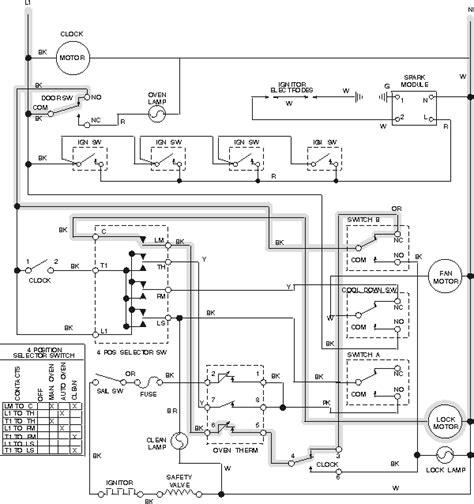 Wiring Diagram For Ge Oven Element by Oven Stove Range And Cooktop Troubleshooting Chapter 2