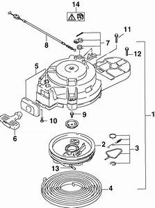 Johnson Recoil Starter Parts For 2002 15hp J15te4snf
