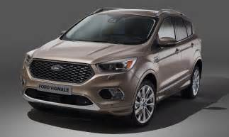 new model home interiors ford kuga vignale new luxury trim option available