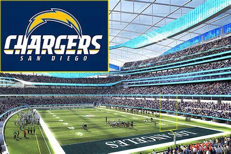 nfl  la chargers rams reach deal  inglewood stadium