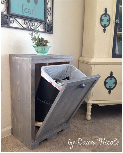 la cuisine dans le bain diy dissimuler la poubelle floriane lemarié