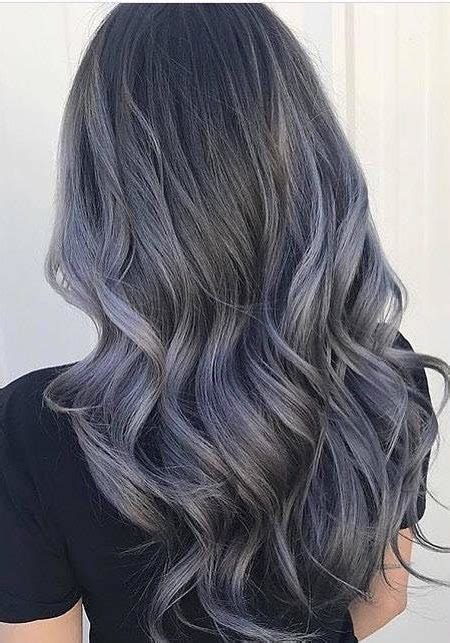 Which Hair Color Is The Best by Trending Charcoal Hair Colors For 2018 Best Hair Color